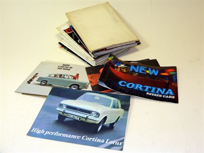Lot 117-Quantity of Ford Brochures