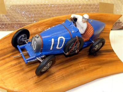 Lot 200-Bugatti Resin Sculpture