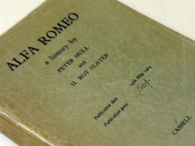 "Lot 126-Alfa Romeo ""A History"" (Proof Copy)"