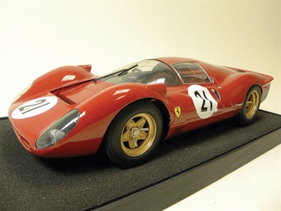 Lot 204-Ferrari 330P Scratch-Built Model