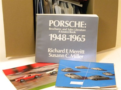 Lot 148-Quantity of Porsche Literature