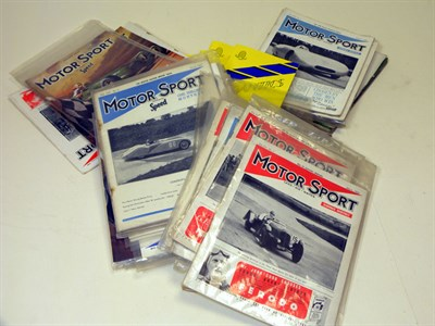 Lot 100-Collection of Unbound Motorsport Magazines