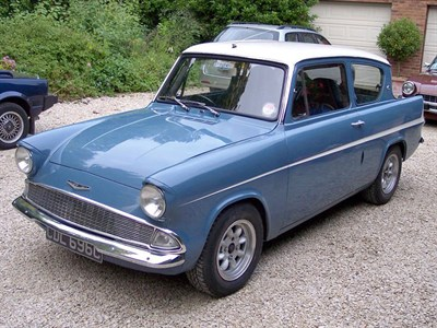Lot 20-1965 Ford Anglia 123E