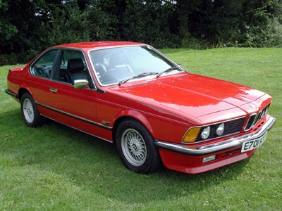 Lot 17-1987 BMW 635 CSi