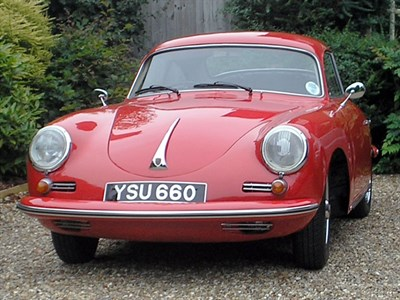 Lot 28-1960 Porsche 356B Coupe