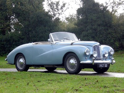 Lot 33-1955 Sunbeam Alpine MK III