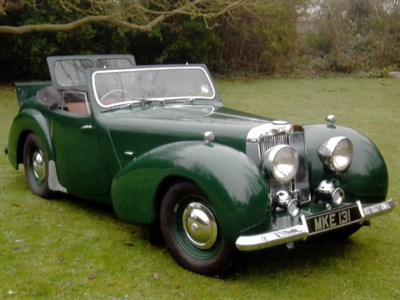 Lot 14 - 1949 Triumph 2000 Roadster