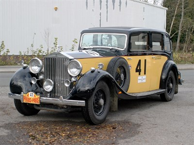 Lot 30 - 1936 Rolls-Royce Phantom III Sports Enclosed Limousine