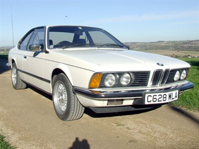 Lot 30-1986 BMW 628 CSi