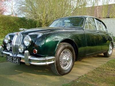 Lot 57-1960 Jaguar MK II 3.4 Litre