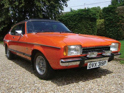 Lot 4-1976 Ford Capri 2000 Ghia