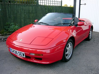 Lot 23-1990 Lotus Elan SE Turbo