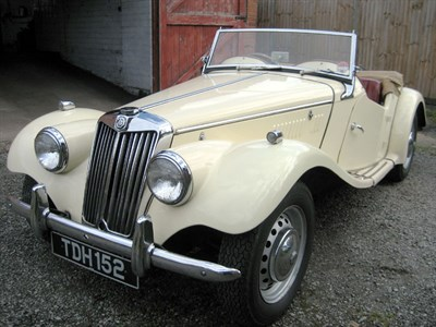Lot 27-1953 MG TF 1250