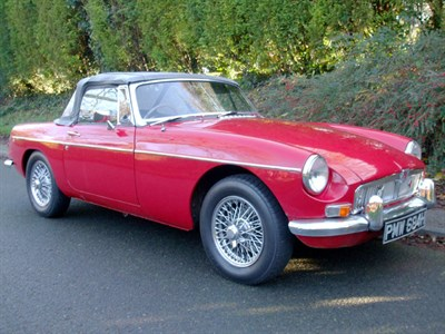 Lot 19-1969 MG B Roadster