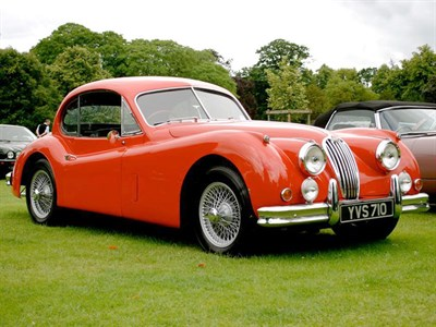 Lot 32-1956 Jaguar XK140 SE Fixed Head Coupe
