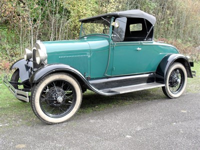 Lot 26-1929 Ford Model A Roadster