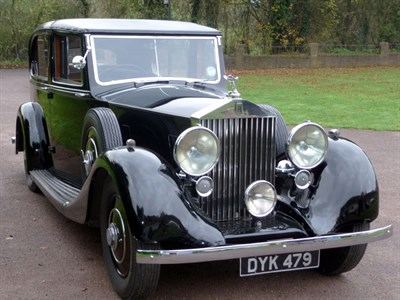 Lot 67-1936 Rolls-Royce 25/30 Sedanca de Ville