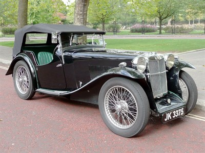 Lot 63-1933 MG L-Type Magna
