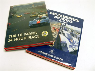 Lot 116 - Two Le Mans History Titles