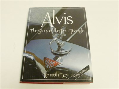 Lot 130 - 'Alvis the Story of the Red Triangle' by Day