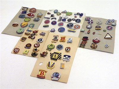 Lot 215 - Collection of Motorcycle Pin Badges