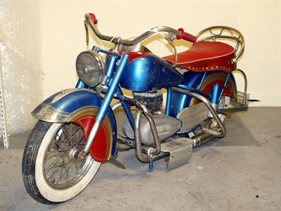 Lot 223 - Lenaerts Child's Indian Motorcycle **
