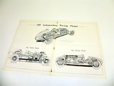 Lot 155 - Two Rare Sales Brochures