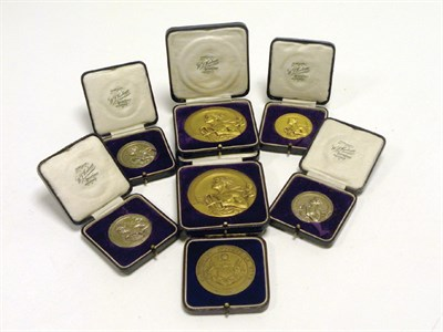Lot 230 - Seven Early Motoring Medals