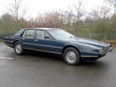 Lot 50-1984 Aston Martin Lagonda