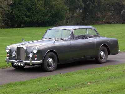 Lot 47-1963 Alvis TD21 Series II Saloon