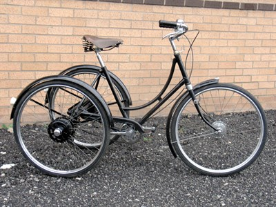 Lot 3-George Fitt Tricycle