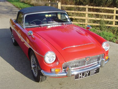 Lot 28-1968 MG C Roadster