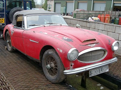 Lot 42 - 1964 Austin-Healey 3000 MKIII