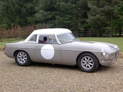 Lot 18 - 1963 MG B Roadster Race Car
