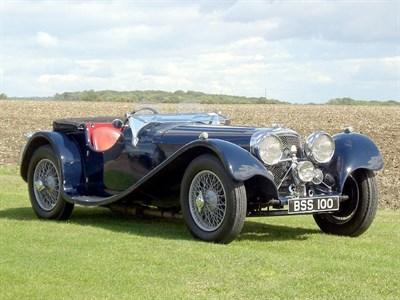 Lot 65-1936 Jaguar SS100 2.5 Litre