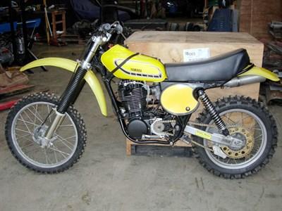 Lot 8-1977 Yamaha TT500D