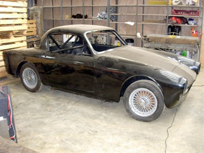 Lot 34-1960 Britannia GT (Tojeiro Chassis Design)