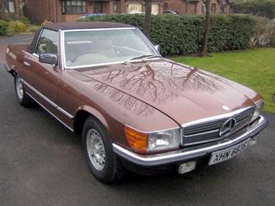 Lot 7 - 1978 Mercedes-Benz 350 SL