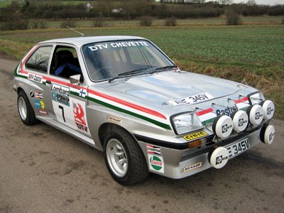 Lot 45 - 1979 Vauxhall Chevette HSR Works Rally Car