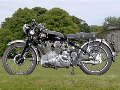 Lot 17-1949 Vincent Rapide Series B