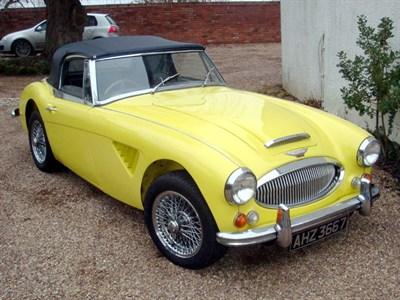 Lot 23 - 1964 Austin-Healey 3000 MKIII
