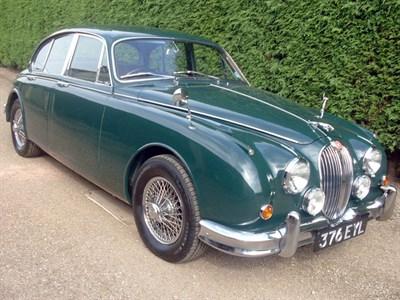 Lot 27-1962 Jaguar MK II 3.4 Litre