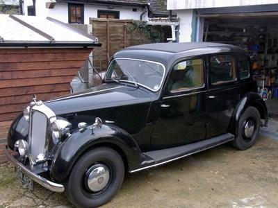 Lot 11-1949 Rover P3 60