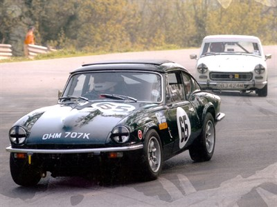 Lot 2 - 1972 Triumph GT6 Mk3 Race Car