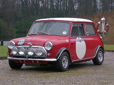 Lot 50 - 1967 Morris Mini Cooper S Works Car