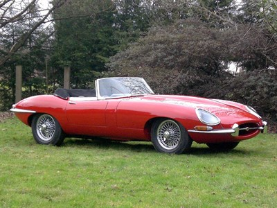 Lot 55 - 1963 Jaguar E-Type 3.8 Roadster