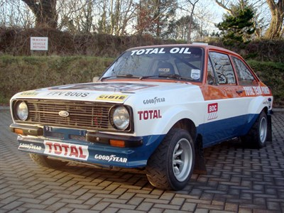 Lot 32 - 1978 Ford Escort 'RS1800' Rally Car