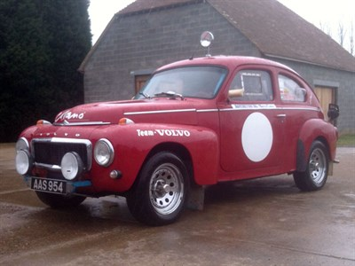 Lot 5 - 1963 Volvo PV544 Rally Car