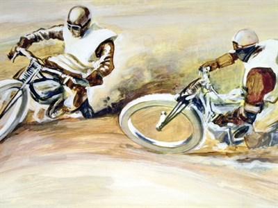 Lot 500-'1928 Speedway' B.D. Taylor
