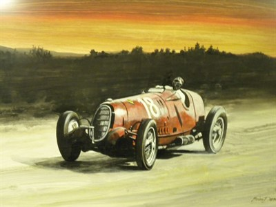 Lot 503 - Alfa Romeo Original Artwork by B.D. Taylor